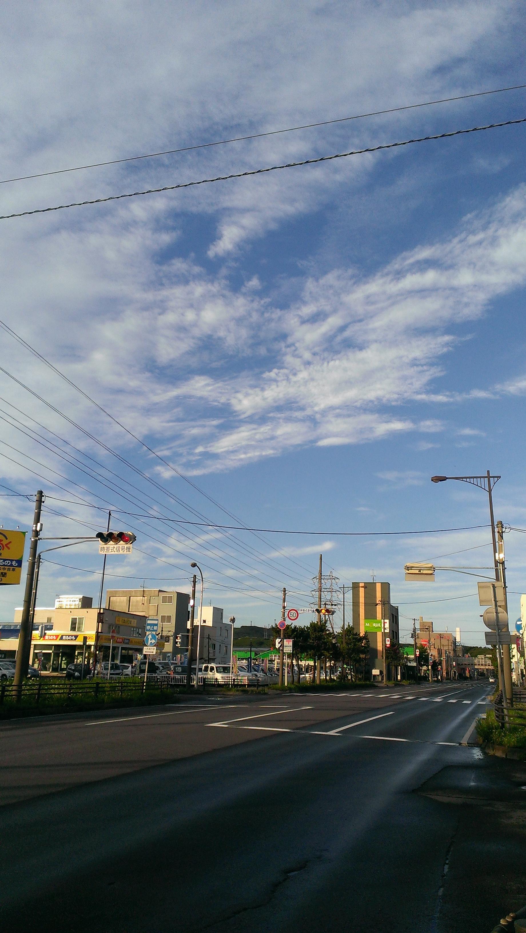 【風景】朝焼け