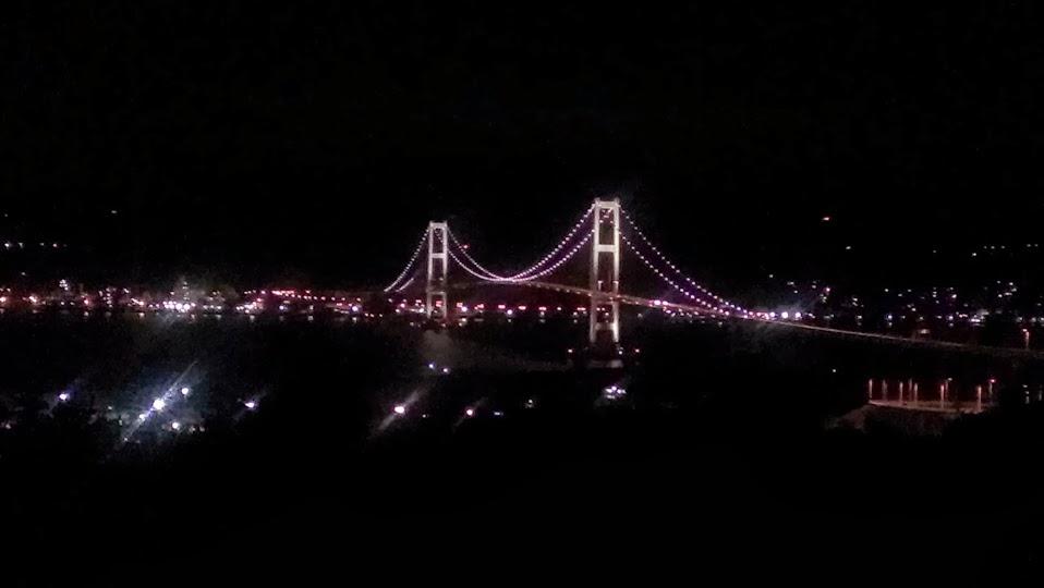 【風景】夜の白鳥大橋